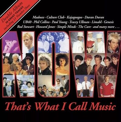 Now That's What I Call Music 1 (Re-Issue 2018) [2 Cd] New & Sealed