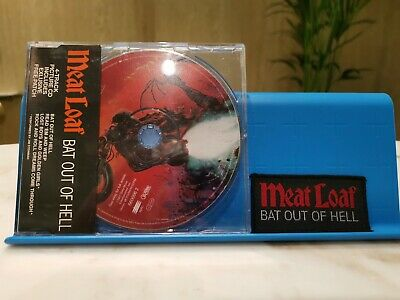 Bat Out Of Hell (with free patch), Meat Loaf, Good Maxi, Limited Edition, Import