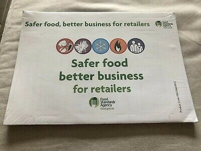 Safer Food Better Business For Retailers SFBB Management System Inc Diary NEW