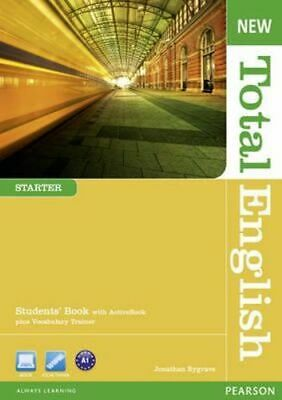 NEW New Total English Starter Students' Book With Active Book Pack By Jonathan B