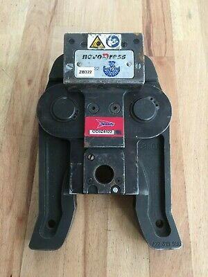 Novopress Mapress Geberit Jaw/Crimper/Adapter 108mm