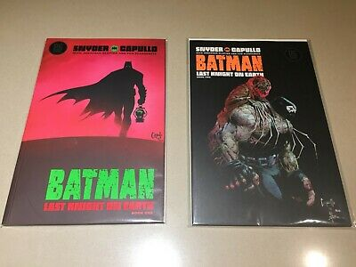 Batman : Last Knight on Earth Issues 1 - 2 DC Comics Snyder