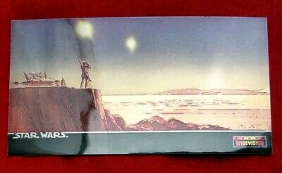 Topps Star Wars - Widevision Chromium Chase Card C-2 1994