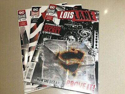 Lois Lane Issues 1 - 3 DC Comics (2019) Superman Greg Rucka Current Series