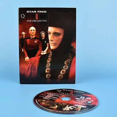 Star Trek Q Fan Collective DVD - The Next Generation - Voyager - Deep Space 9