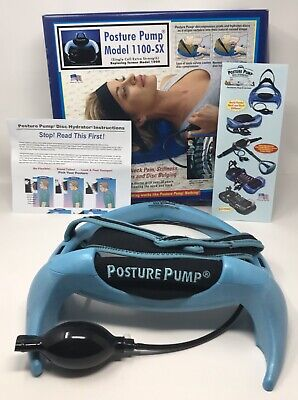Posture Pump Neck Pain Relief Cervical Disk Hydrator Model 1100-SX