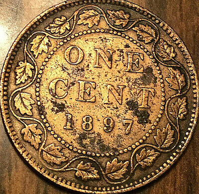 1897 Canada Large Cent Penny Large 1 Cent