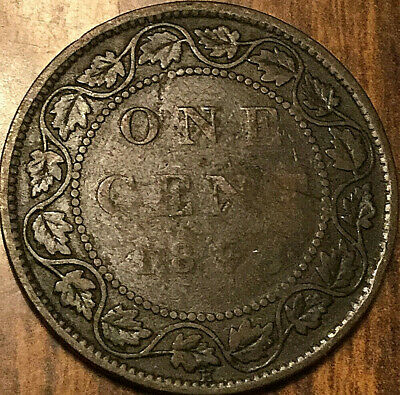 1898H Canada Large Cent Penny Large 1 Cent
