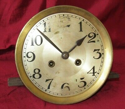German Antique Striking Clock Movement