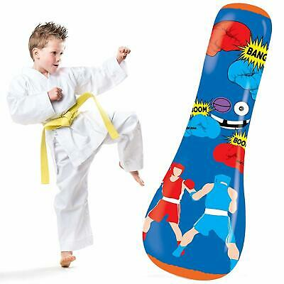 Hoovy Inflatable Punching Bag For Kids Children Air Bop