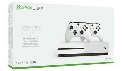 Xbox One 1TB Console Dual Two Controller Brand New