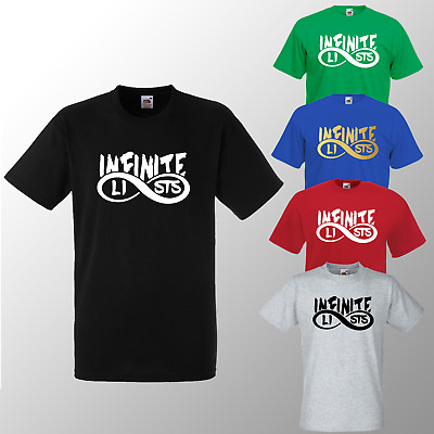 Kids Infinite T shirt Lists Youth Gamer Youtube ideal for Gift Tee Boys Girls