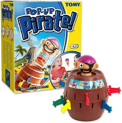 TOMY POP-UP PIRATE Game - Family Childrens Fun Activity