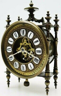French Skeleton Clock by Eugene Farcot