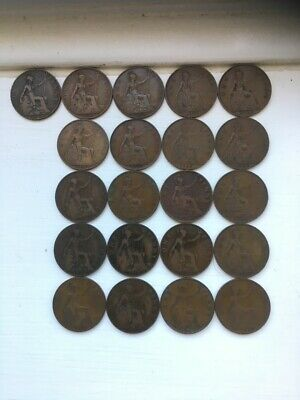 Date Run OF George V Pennies, 1911 TO 1936 no 1933 ;-)