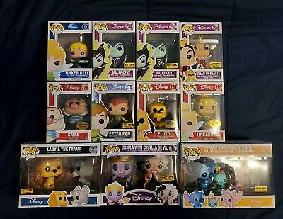 Funko POP Assortment Disney Lot of 11 (incl CHASE, and Multi-packs) VAULTED