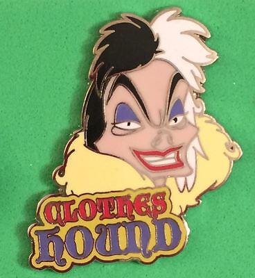 Disney Pin Villains Mystery Pin 107927 Cruella from 101 Dalmations New