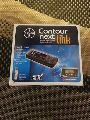 Bayer Contour Next Link Blood Glucose Monitoring System Wireless
