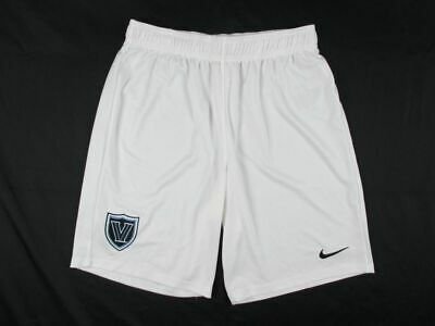 Nike Villanova Wildcats - Men's White Dri-Fit Shorts (Multiple Sizes) - Used