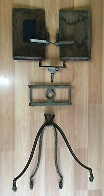 Old Vtg Antique Aermotor Sheet Music Book Cast Iron Stand Part Repair Giffen