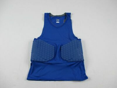NEW Nike - Men'sBlue Padded Compression Sleeveless Shirt (Multiple Sizes)