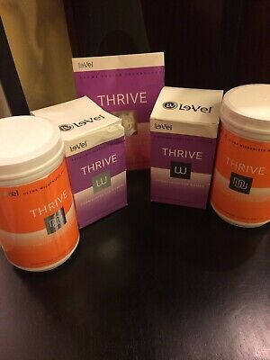 Le-Vel THRIVE 120 PREMIUM LIFESTYLE CAPSULES,  2 canisters VANILLA MIX, DFT 2.0