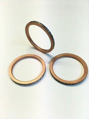 Triumph Tiger 800 (All Models) Exhaust Port Header Round Gasket Seal (Qty 3)