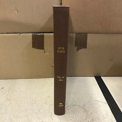 Bound Set of: The Antique Collector: Illustrated Journal: Vol 45: 1974