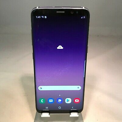 Samsung Galaxy S8 64GB Orchid Gray AT&T - Excellent Condition - OLED Spots