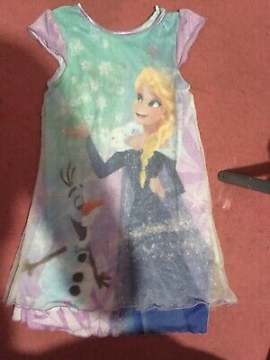 Girls Frozen Nightdress 5-6