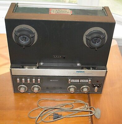 Revox A-77 Two track reel to reel tape recorder with Dolby