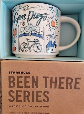 NEW Starbucks San Diego Been There Series Mug LIMITED EDITION 14 Oz