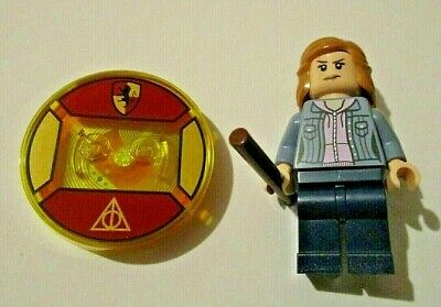 Lego HERMIONE GRANGER Harry Potter Minifigure + Game Tag NEW Dimensions