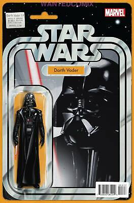Darth Vader #1 Action Figure Variant Cover Marvel Comic Book New 2015 Dark Sith