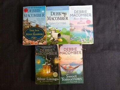 Lot of 5 Debbie Macomber Books, Rose Harbor Series