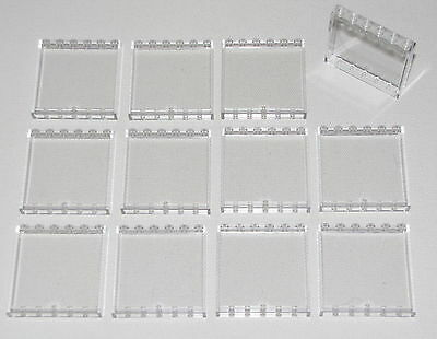 LEGO Translucent Clear 1x6x5 Wall Panel