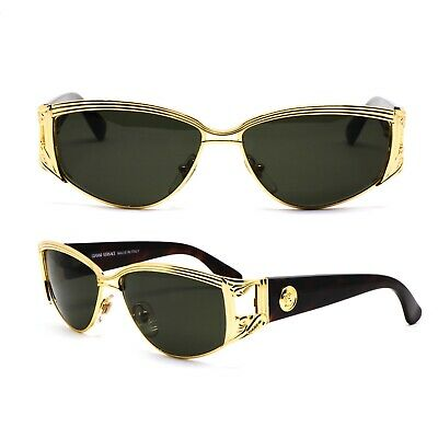 Occhiali Gianni Versace S62 030 Vintage Sunglasses New Old Stock 1990'S