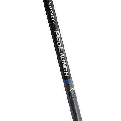 New Grafalloy Golf Prolaunch Axis Blue Special Graphite Driver Shaft W/ Adapter