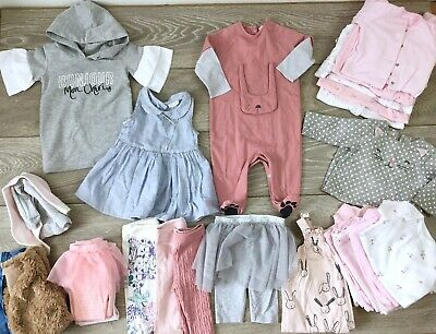 Baby Girls Clothes Bundle 0-3 1