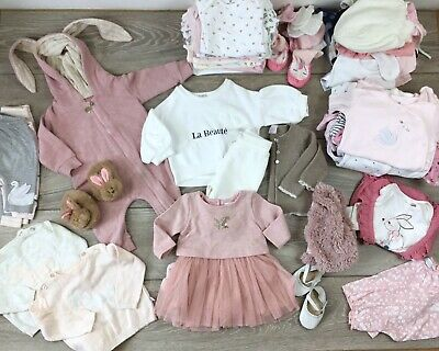 Baby Girls Clothes Bundle 0-3 2