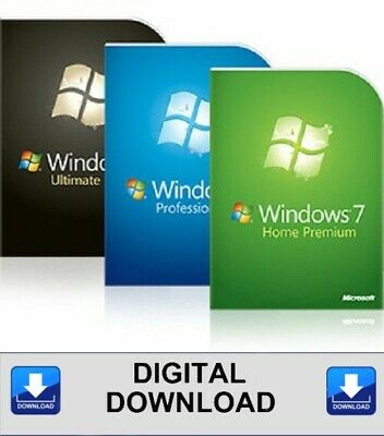 Windows 7 Reinstallation Full Install 32 64 Home Professional Ultimate Download