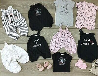 Baby Girls Clothes Bundle 0-3 3