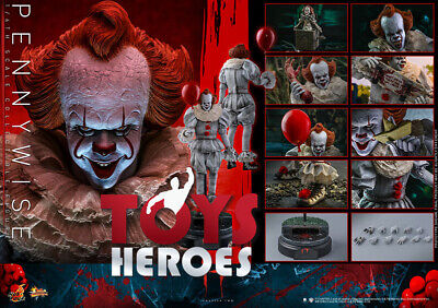 HOT TOYS MMS555 IT CHAPTER TWO PENNYWISE Coupon Preorder