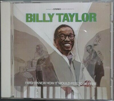 BILLY TAYLOR - I Wish I Knew How It Would Feel To Be -  JAPAN CD