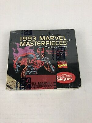 1993 Marvel Masterpieces Comic Book Trading Cards Skybox Factory Sealed Box