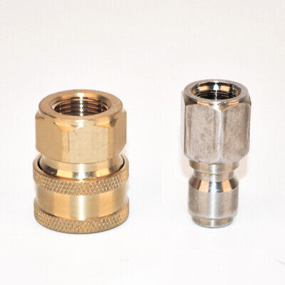 Quick Connector Adapter Fittings For Car Washing Pressure Washer Outdoor Tools