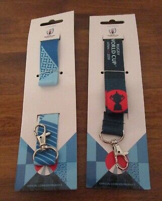 NEW Official Rugby World Cup Japan 2019 RWC2019 Logo or Trophy Lanyard