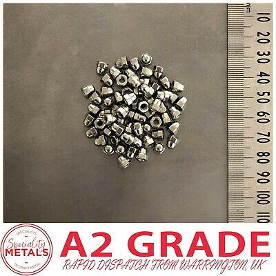 M3 (3mm) Dome Head Cup Nuts A2 (304 Grade) Stainless Steel Nut