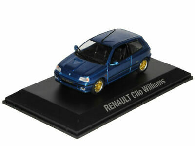 Norev Youngtimers Renault Clio Williams blau blue 1:43 Artikel 430201