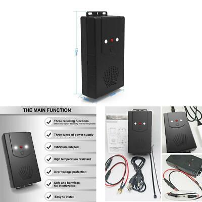 Car Pest Chaser Monitor Engine Protector Ultrasonic Mouse Rats Repeller